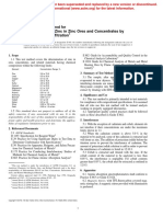 E 945 – 96  Determination of Zinc in Zinc Ores and Concentrates by