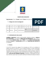 AUDIENCIA DE FORMULACIÓN DE ACUSACIÓN