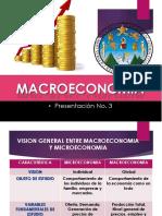 Presentacion 3 Conceptos Macroeconomía