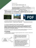 Ficha de actividades n° 15  Reconocemos los tipos de ANP en el Perú.docx