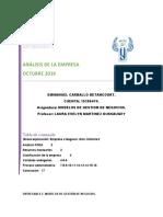 Entregable 2 Modelos de gestión de negocios