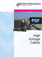 High Voltage Cables - Prysmian
