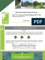 Actualización Trámite Aprovechamiento Forestal RM 2851 de 2019