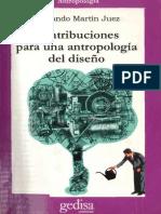 Contribuciones para una antropologia del diseño-Martin Juez