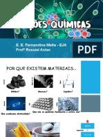 Ligações Químicas - EJA - 4º Período