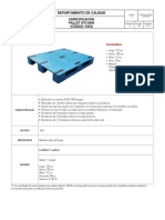 9304 - PALLET STD 6000