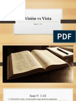 Visión vs Vista