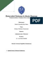 OPINION SISTEMA TRIBUTARIO DOMINICANO