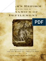 Lauren A. S. Monroe - Josiah's Reform and the Dynamics of Defilement_ Israelite Rites of Violence and the Making of a Biblical Text  -Oxford University Press, USA (2011).pdf