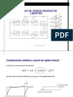7.2 Condensación-Matriz Rigidez Lateral