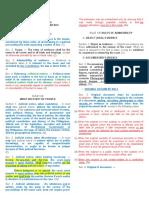 Evidence - Codal Amendments 3