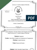 Proyecto de Nación Fredy Segura
