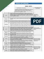 Criterios de evaluación IECS