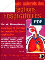 André Passebecq - Traitements Naturels Des Affections Respiratoires-Editions Dangles (1980)