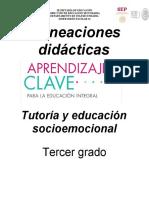 3° PLANEACIONES SOCIOEMOCIONAL