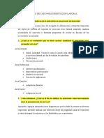 ANALISIS DE CASO PARA ORIENTACION LABORAL