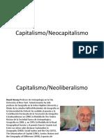 Capitalismo neoliberalismo