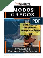 MODOS GREGOS__INTRODUÇÃO__DIARIO DE GUITARRA
