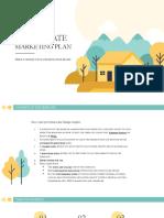 Real Estate Marketing Plan by Slidesgo