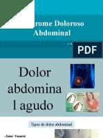 Sindrome Doloroso Abdominal presentacion