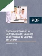 Buenas Prácticas en la Segregación de Funciones en el Proceso de Cuentas por Cobrar
