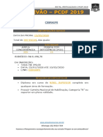 PCDF - ESCRIVÃO 2019 - EDITAL