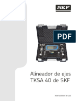 Alineador TKSA 40-Manual
