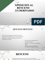 EXPOSICION AL BENCENO Y SUS DERIVADOS (1)