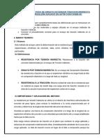 METODO DE ENSAYO ESTÁNDAR TRACCION INDIRECTA (PRUEBA BRASILEÑA BASADO EN ASTM C496/C496M-04)