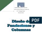Diseño de Fundaciones y Columnas