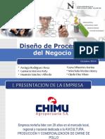 Diseño de procesos del negocio