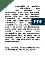 Debord, world trade center, démocratie et terrorisme.doc