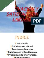 TEORÍAS SOBRE MOTIVACIÓN LABORAL