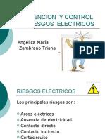 PREVENCION  Y CONTROL DE RIESGOS  ELECTRICOS