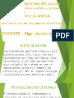 NUTRICION Y METABOLISMO DE LAS BACTERIAS (1)