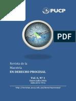 Reflexiones sobre el derecho procesal