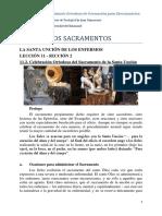 11.2. Celebración Ortodoxa del Sacramento de la Santa Unción