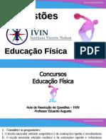 Concursos Educação Física - IVIN