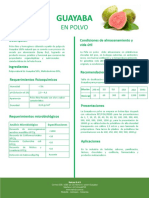 Guayaba brochure