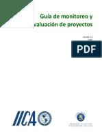 Guía de monitoreo y evaluación de proyectos 2020