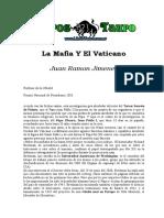 La Mafia y el Vaticano - Juan Ramon Jimenez.doc