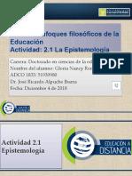 Gloria Nancy Romero Actividad 2.1 Epistemología.pptx
