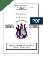 Directiva Bienes Nacionales Muebles Dir. 16-94