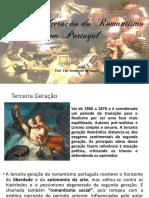 Terceira Geração do Romantismo em Portugal