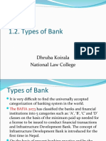1.2. Types of Bank