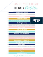20 areas to declutter quickly checklist.pdf