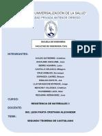 2° TEOREMA DE CASTIGLIANO