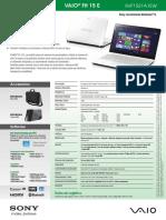 Sony Vaio SVF-1521A1EW