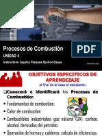 Procesos de Combustión