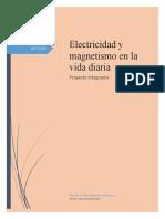 Electricidad y magnetismo en la vida diaria M12S4PI